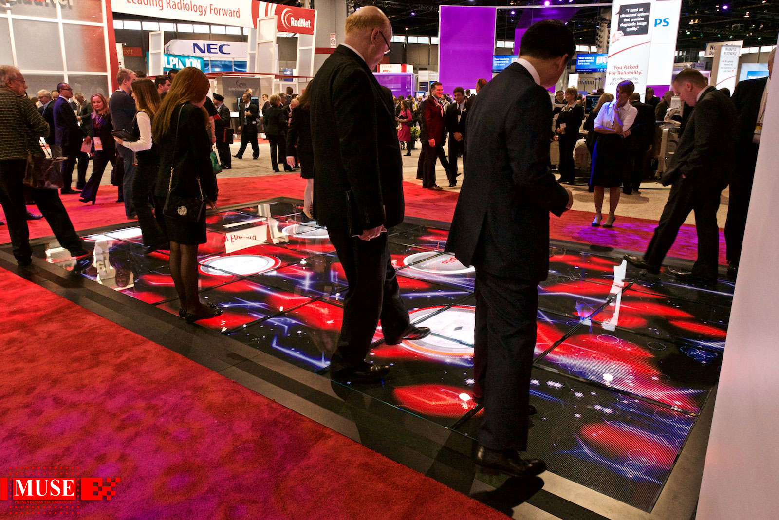 Interactive LED Floor – Portfolio