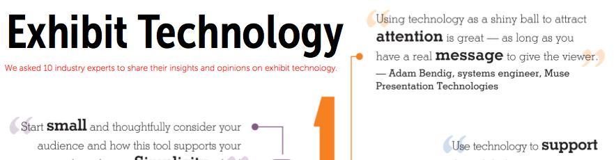 Exhibitor Magazine Insights clip