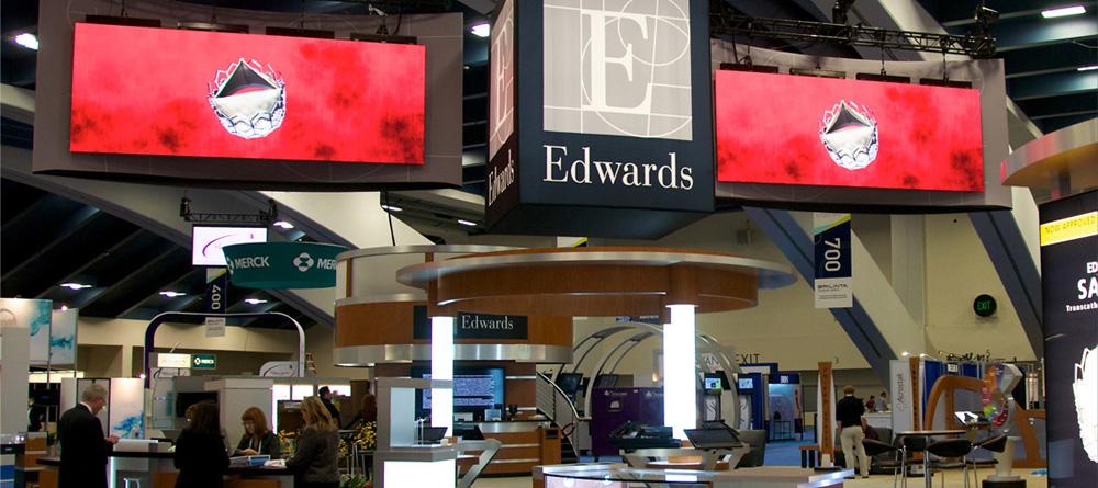 Hanging LED Videowall Display